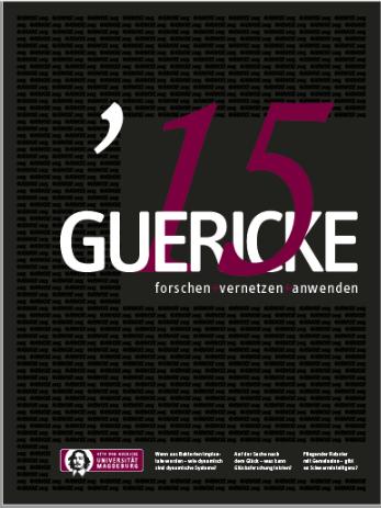 Ansehen 2015: GUERICKE. forschen + vernetzen + anwenden