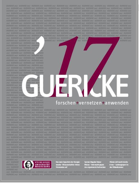 Ansehen 2017: GUERICKE. forschen + vernetzen + anwenden