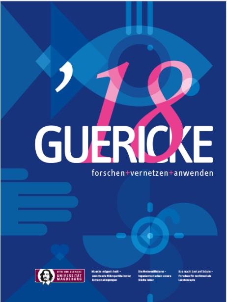 Ansehen 2018: GUERICKE. forschen + vernetzen + anwenden